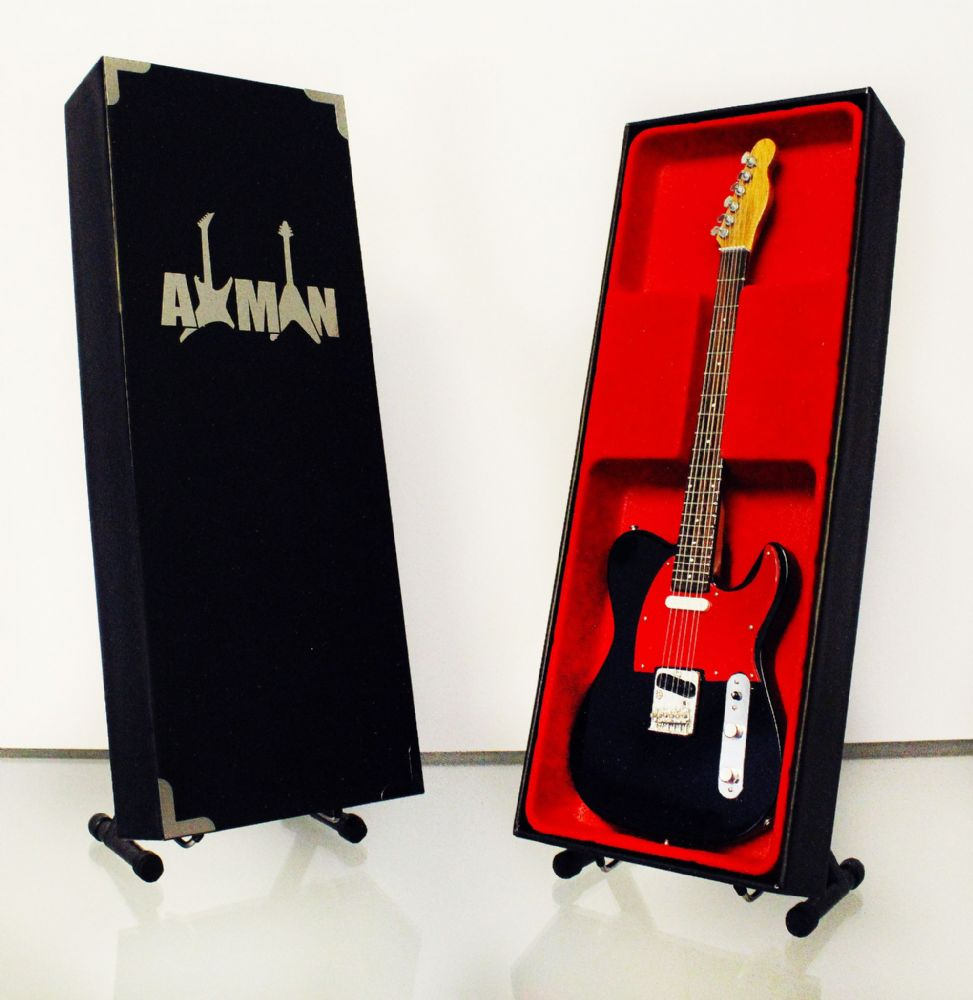 (Dr. Feelgood) Wilko Johnson: Fender Telecaster - Guitar Miniature (UK Seller)